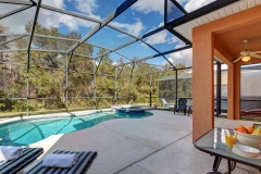 Pool with Set Table